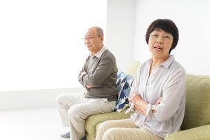 夫婦喧嘩・熟年離婚の写真素材 [FYI04704739]