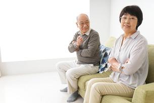 夫婦喧嘩・熟年離婚の写真素材 [FYI04704742]