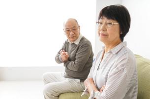 夫婦喧嘩・熟年離婚の写真素材 [FYI04704744]
