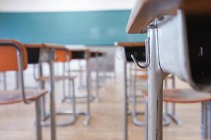 学校の教室の写真素材 [FYI04705251]