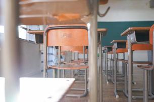 学校の教室の写真素材 [FYI04705253]