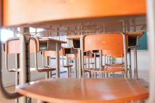 学校の教室の写真素材 [FYI04705254]