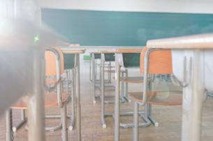 学校の教室の写真素材 [FYI04705255]