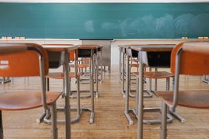 学校の教室の写真素材 [FYI04705258]