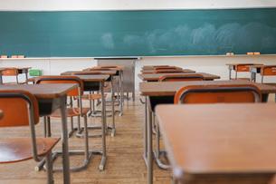 学校の教室の写真素材 [FYI04705259]