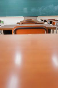 学校の教室の写真素材 [FYI04705263]