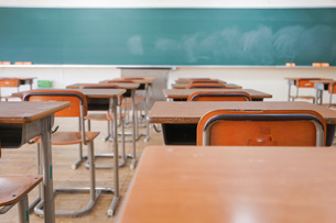 学校の教室の写真素材 [FYI04705264]