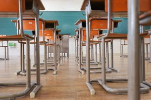 学校の教室の写真素材 [FYI04705265]