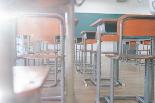学校の教室の写真素材 [FYI04705266]