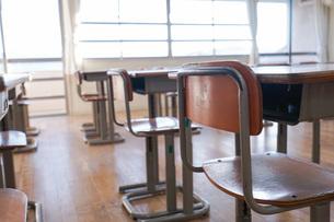 学校の教室の写真素材 [FYI04705267]