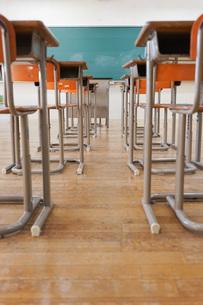 学校の教室の写真素材 [FYI04705268]