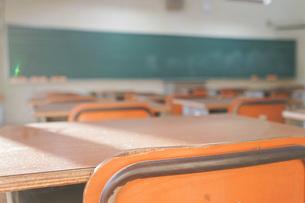 学校の教室の写真素材 [FYI04705270]