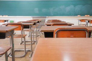 学校の教室の写真素材 [FYI04705271]