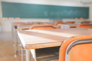 学校の教室の写真素材 [FYI04705275]