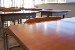 学校の教室の写真素材 [FYI04705281]