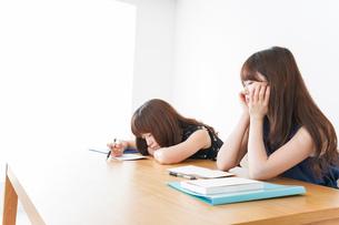 授業に退屈している学生の写真素材 [FYI04705922]