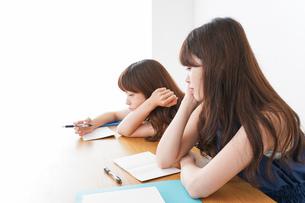 授業に退屈している学生の写真素材 [FYI04705929]