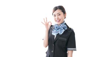 接客する女性の写真素材 [FYI04706332]