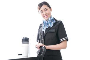 機内サービスの写真素材 [FYI04706433]
