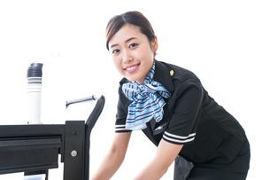 機内サービスの写真素材 [FYI04706438]