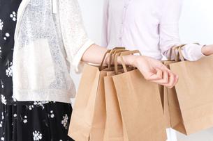 ショッピングをする女性の写真素材 [FYI04707104]