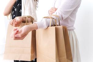 ショッピングをする女性の写真素材 [FYI04707109]