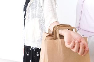 ショッピングをする女性の写真素材 [FYI04707118]