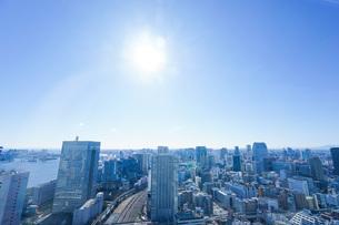 東京眺望の写真素材 [FYI04707598]