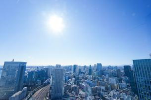 東京眺望の写真素材 [FYI04707601]
