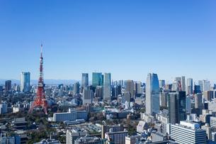東京眺望の写真素材 [FYI04707630]