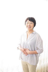 高齢の女性の写真素材 [FYI04707713]