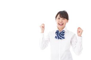 喜ぶ学生・合格の写真素材 [FYI04708140]