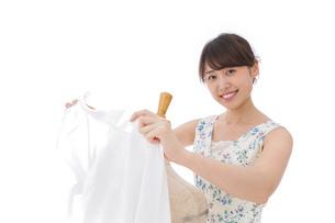 アパレル業界で働く女性の写真素材 [FYI04708197]