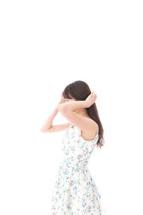 女性ポートレートの写真素材 [FYI04708226]
