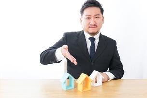 Businessman at officeの写真素材 [FYI04708574]