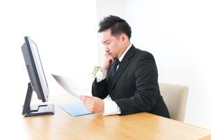 サラリーマン・会社員・社長・オフィスの写真素材 [FYI04708676]