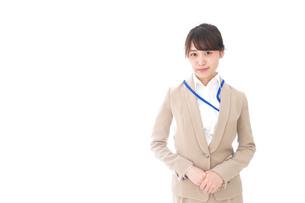 オフィスの受付嬢の写真素材 [FYI04709330]