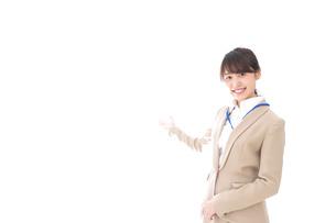 オフィスの受付嬢の写真素材 [FYI04709331]