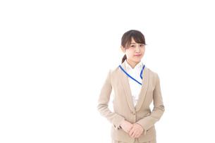 オフィスの受付嬢の写真素材 [FYI04709336]