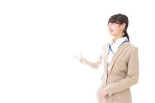 オフィスの受付嬢の写真素材 [FYI04709342]