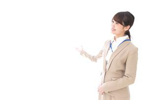 オフィスの受付嬢の写真素材 [FYI04709344]