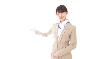オフィスの受付嬢の写真素材 [FYI04709347]