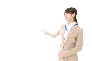 オフィスの受付嬢の写真素材 [FYI04709349]