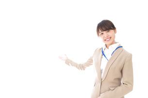 オフィスの受付嬢の写真素材 [FYI04709351]