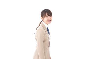 制服を着た笑顔の学生の写真素材 [FYI04709437]