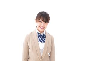 制服を着た笑顔の学生の写真素材 [FYI04709441]