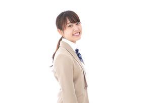 制服を着た笑顔の学生の写真素材 [FYI04709442]