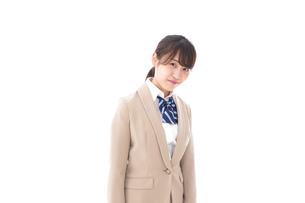 制服を着た笑顔の学生の写真素材 [FYI04709445]