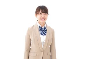 制服を着た笑顔の学生の写真素材 [FYI04709446]