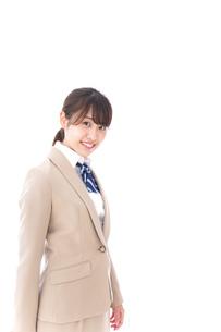 制服を着た笑顔の学生の写真素材 [FYI04709448]